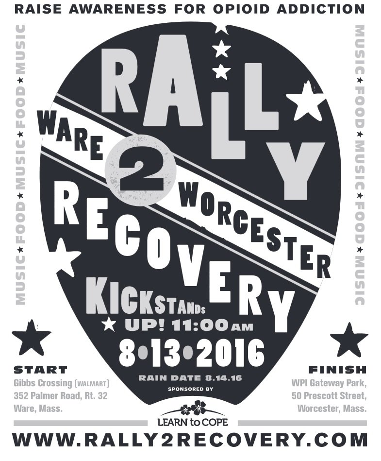 Rally to Recovery Event Flyer