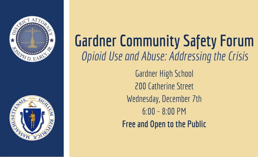 Adcare Speaks at Gardner Community Forum on Opioid