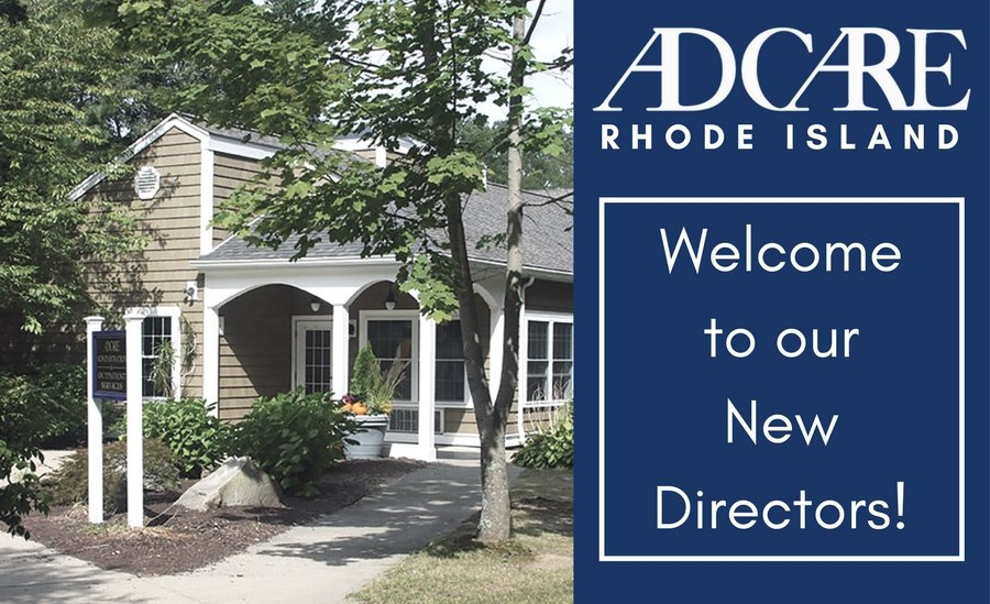 AdCare Rhode Island Welcome Sign