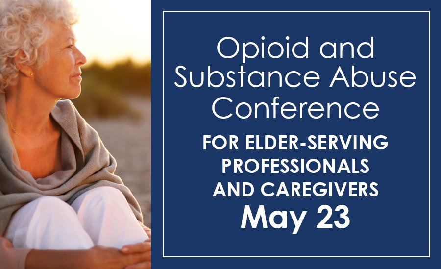 Opioid and Substance Abuse Conference Flyer