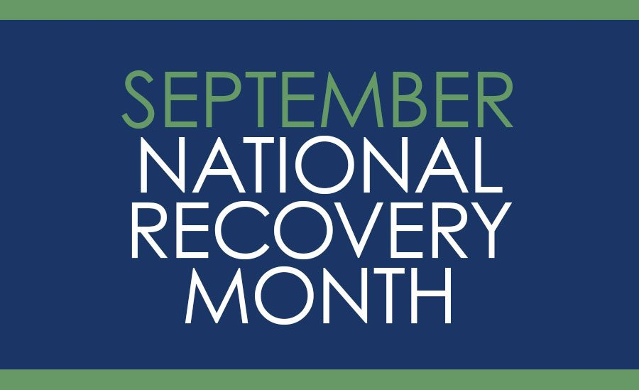 September National Recovery Month Graphic