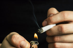 Signs of an addiction to weed.